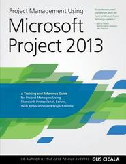 Project Management Using Microsoft Project 2013 1st Edition 9780615821887 061582188X