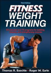 Fitness Weight Training 3rd Edition 9781450445139 1450445136