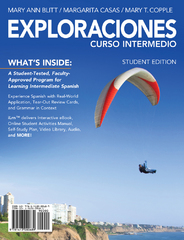 Exploraciones curso intermedio (with iLrn Printed Access Card) 1st Edition 9781285193953 1285193954