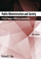 Public Administration and Society 3rd Edition 9780765635372 0765635372