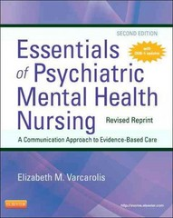 Essentials of Psychiatric Mental Health Nursing - Revised Reprint 2nd Edition 9780323287883 0323287883