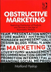 Obstructive Marketing 1st Edition 9781317086321 1317086325