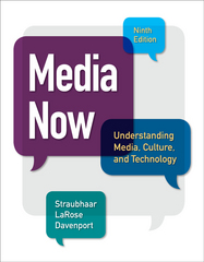 Media Now 9th Edition 9781305080355 1305080351