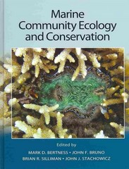 Marine Community Ecology and Conservation 1st Edition 9781605352282 1605352284