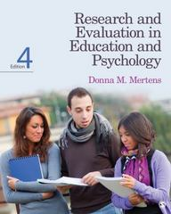 Research and Evaluation in Education and Psychology 4th Edition 9781452240275 1452240272
