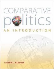 Comparative Politics: An Introduction 1st Edition 9780073526430 0073526436