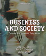 Business and Society 9th edition 9780072924473 0072924470