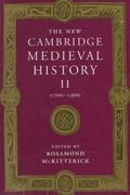 The New Cambridge Medieval History 0 9780521362924 052136292X