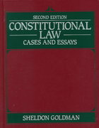 Constitutional Law 2nd Edition 9780060423964 006042396X