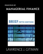Principles of Managerial Finance 5th edition 9780321557520 0321557522