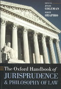 The Oxford Handbook of Jurisprudence and Philosophy of Law 0 9780199270972 019927097X