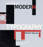 Pioneers of Modern Typography 2nd edition 9780262693035 0262693038