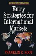 Entry Strategies for International Markets 0 9780029269046 0029269040