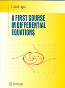 A First Course in Differential Equations 1st edition 9780387259642 0387259643