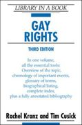 Gay Rights 2nd edition 9780816058105 0816058105