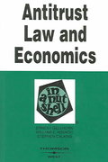 Antitrust Law and Economics in a Nutshell 5th edition 9780314257239 0314257233