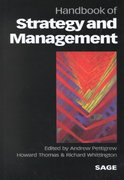 Handbook of Strategy and Management 0 9780761958932 0761958932