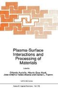 Plasma-Surface Interactions and Processing of Materials 1st edition 9780792305842 0792305841
