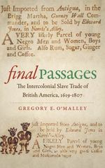 Final Passages 1st Edition 9781469615349 1469615347