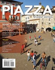 Student Activities Manual with iLrn Printed Access Card for Melucci/Tognozzi's Piazza 1st Edition 9781285076973 1285076974