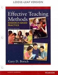 Effective Teaching Methods 8th Edition 9780133412598 0133412598