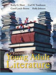 Essentials of Young Adult Literature 3rd Edition 9780133522273 013352227X