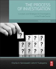 The Process of Investigation 4th Edition 9780128001660 0128001666