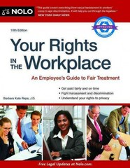 Your Rights in the Workplace 10th Edition 9781413319088 1413319084