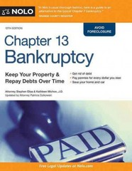 Chapter 13 Bankruptcy 12th Edition 9781413320268 1413320260