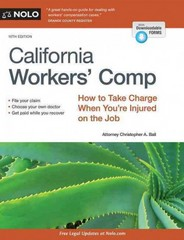 California Workers' Comp 10th Edition 9781413320244 1413320244