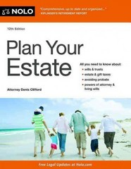 Plan Your Estate 12th Edition 9781413320183 141332018X