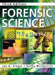 Forensic Science 3rd Edition 9781482223330 1482223333