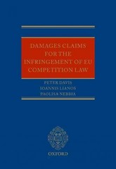 Damages Claims for the Infringement of EU Competition Law 1st Edition 9780199575183 0199575185