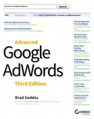 Advanced Google AdWords 3rd Edition 9781118819562 111881956X
