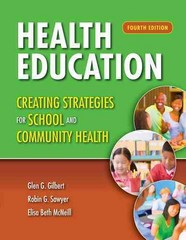 Health Education 4th Edition 9781449698546 1449698549