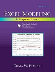 Excel Modeling in Corporate Finance 5th Edition 9780205987252 0205987257