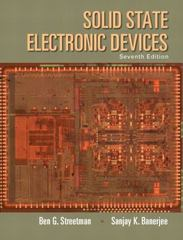Solid State Electronic Devices 7th Edition 9780133356113 0133356116