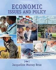 Economic Issues and Policy 6th Edition 9781285448770 1285448774