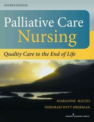 Palliative Care Nursing 4th Edition 9780826196354 0826196357