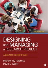 Designing and Managing a Research Project 3rd Edition 9781452276564 1452276560