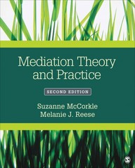 Mediation Theory and Practice 2nd Edition 9781483346854 1483346854