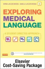 Medical Terminology Online for Exploring Medical Language (Access Code and Textbook Package) 9th Edition 9780323295505 0323295509