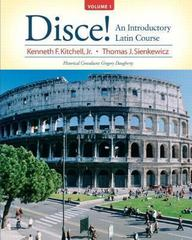 Disce! An Introductory Latin Course, Volume 1 Plus MyLatinLab (multi-semester access) with eText -- Access Card Package 1st Edition 9780205997039 0205997031