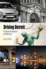 Driving Detroit 1st Edition 9780812222951 0812222954