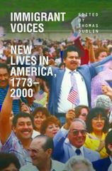 Immigrant Voices 2nd Edition 9780252078729 0252078721