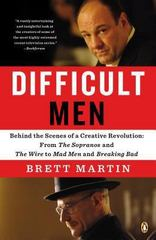 Difficult Men 1st Edition 9780143125693 0143125699
