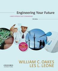 Engineering Your Future 5th Edition 9780199348053 0199348057