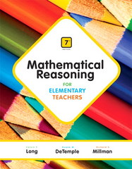 Mathematical Reasoning for Elementary Teachers 7th Edition 9780321900999 0321900995