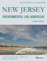 New Jersey Environmental Law Handbook 8th Edition 9781598886993 1598886991