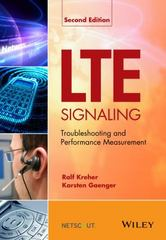 LTE Signaling 2nd Edition 9781118725108 1118725107